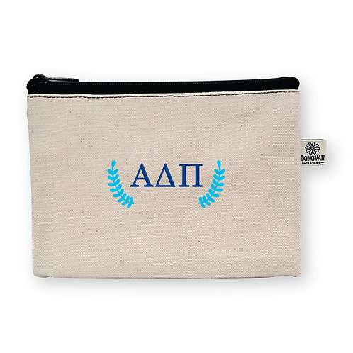 Embroidered Greek Bittie Pouch