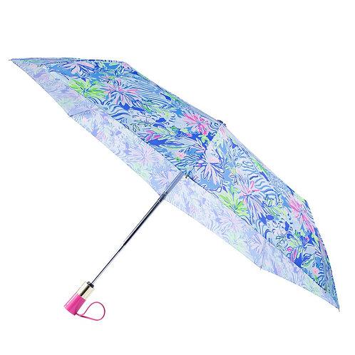 lilly pulitzer travel umbrella, lion around