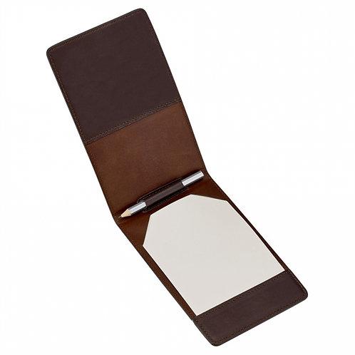 Golf Yardage/Scorecard Cover Traditional Leather - GLF-TR1