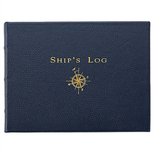 Ship's Log Traditional Leather - SHP-TR1