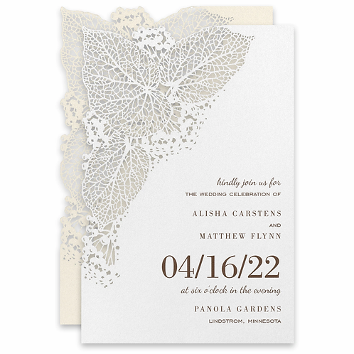 Intricate Greenery Invitation - CL58981