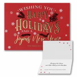 Joyful Holidays - Holiday Folder YU59339F