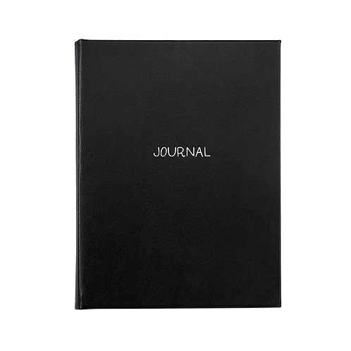 "9"" Hardcover Journal Leather - MLL-BND"