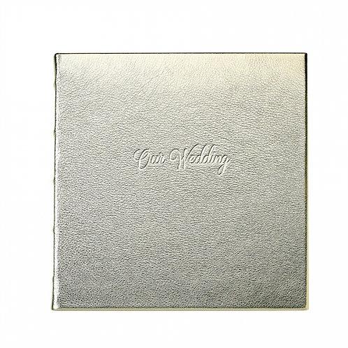 Wedding Journal Leather - WBK-FLO