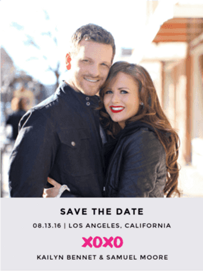 Envelopments - X and O Save The Date