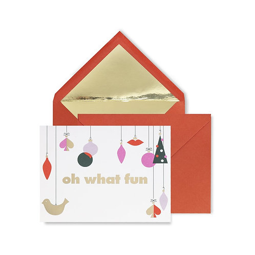 Kate Spade New York Holiday Card Set, Oh What Fun