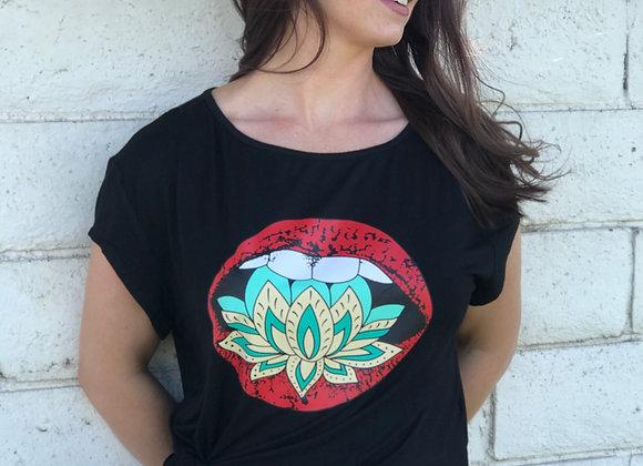 Lotus Kiss Tee