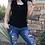 Thumbnail: Leopard Patch Jeans