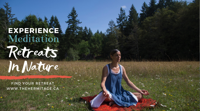Ad for Meditation Retreats