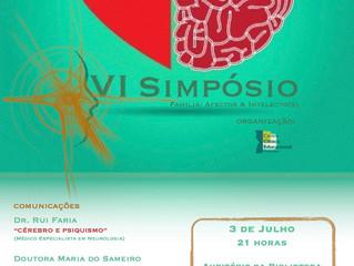 Cartaz Oficial do VI Simpósio Família: Afectos & Intelecto(s)