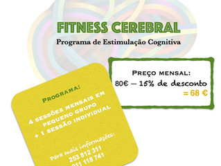 Campanha Promocional Fitness Cerebral em Grupo