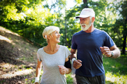Senior Couple Jogging_1366118075