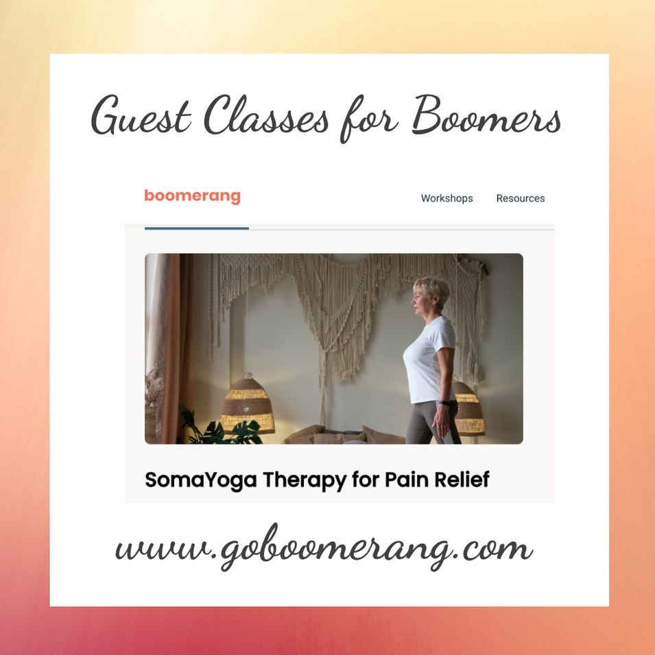 Guest Classes for Boomers