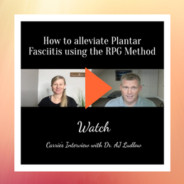 Plantar Fasciitis Interview with Dr. AJ Ludlow