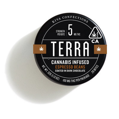 Espresso Beans Terra Bites (ALL TAXES NOW INCLUDED IN PRICE)