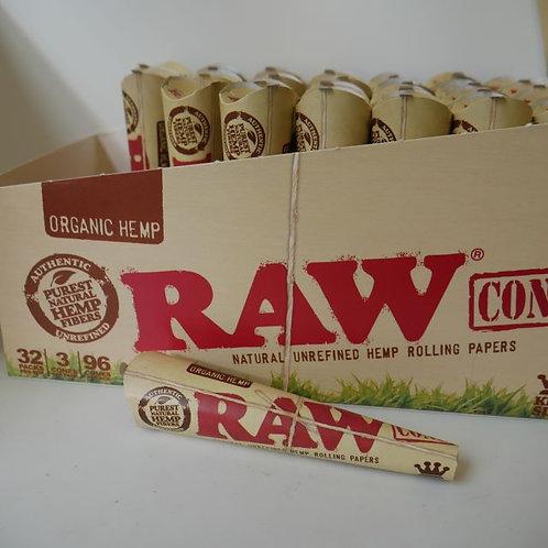 Raw 3 Pack Cones