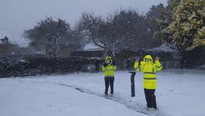 L'école sous la neige (2) !