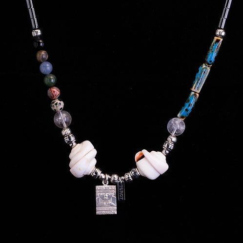 Necklace Ethno-Chic - Marine Rainbow