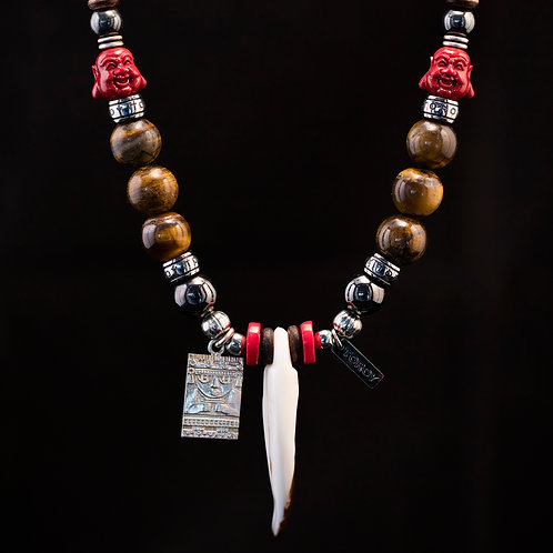 Necklace Ethno-Chic - Mayan Buddha