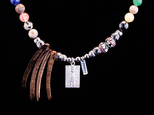 Necklace Ethno-Chic - Rainbow Chac