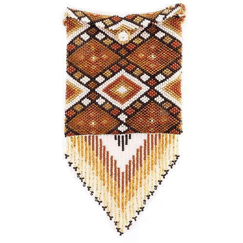 Mayan beaded handbag