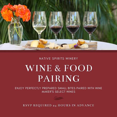 Wine & Food Pairing Experience