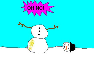 TRAINING FOR THE SNOWMAN'S HEAD