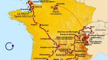 VIRTUAL TOUR DE FRANCE STAGE UPDATES