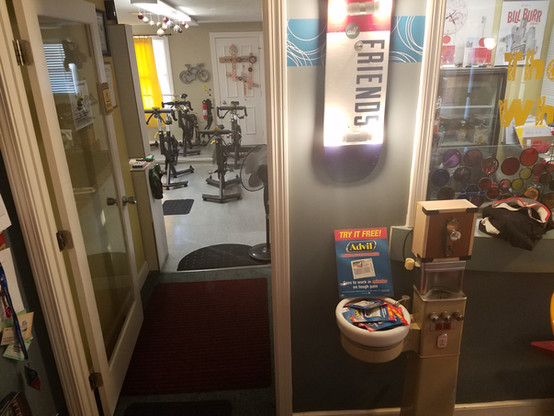 The Wheelhouse cycling room