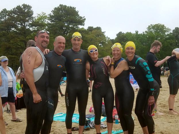 3-mile endurance swim