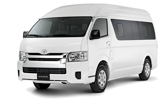 Toyota Hiace Explora Car Rental