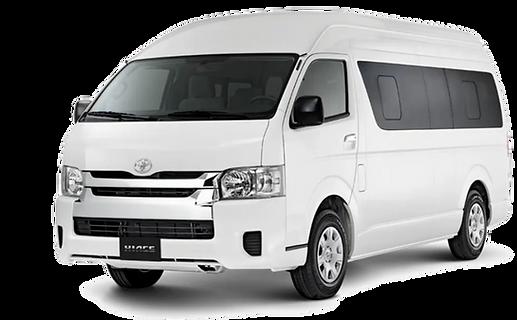 Toyota Hiace Explora Car Rental