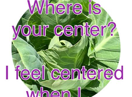 英語でヨガのテーマ: centerについて