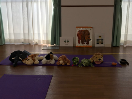 Preschool Yoga and English teaching