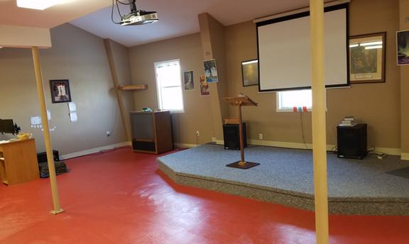 Children's church room