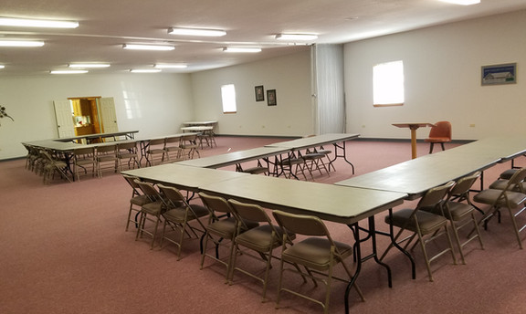 Adult Bible study areas