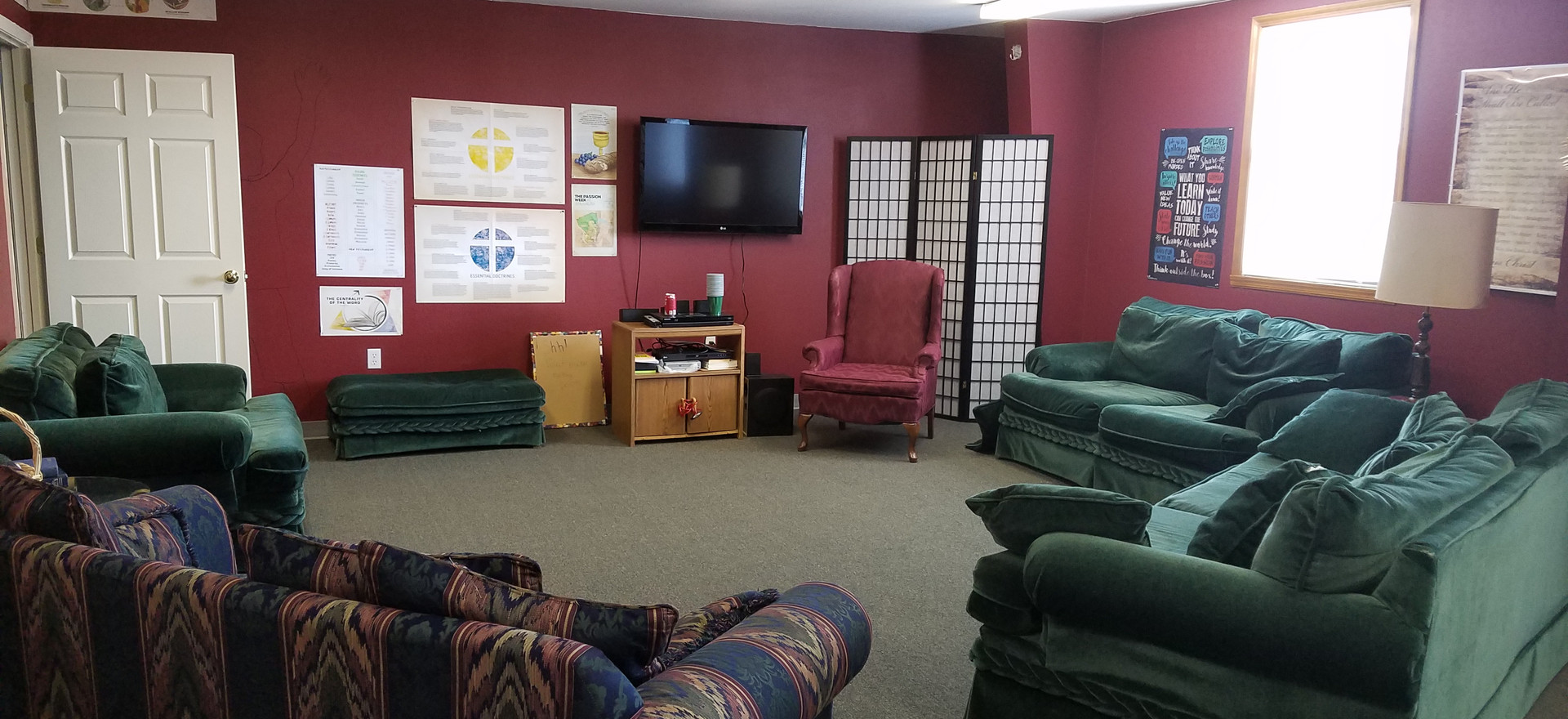 Youth Bible study room