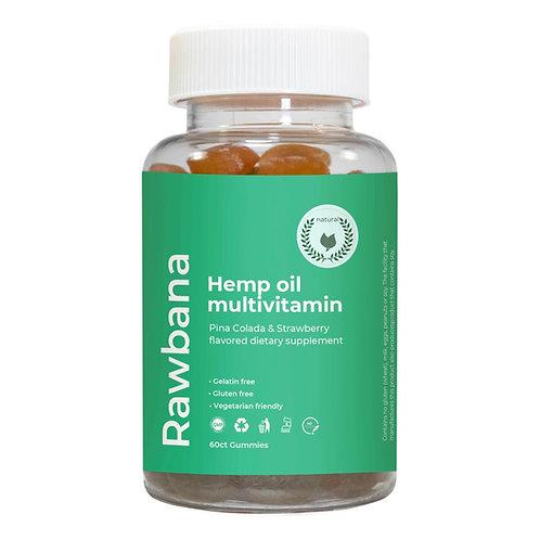 Hemp oil multivitamin