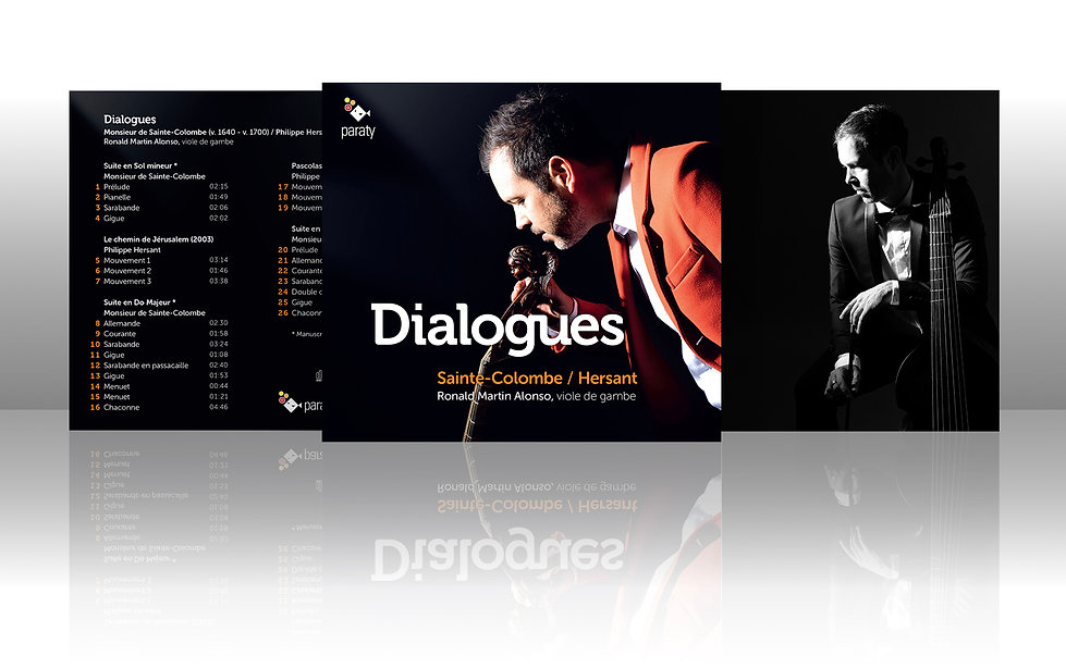 Dialogues / Sainte-Colombe / Hersant / R