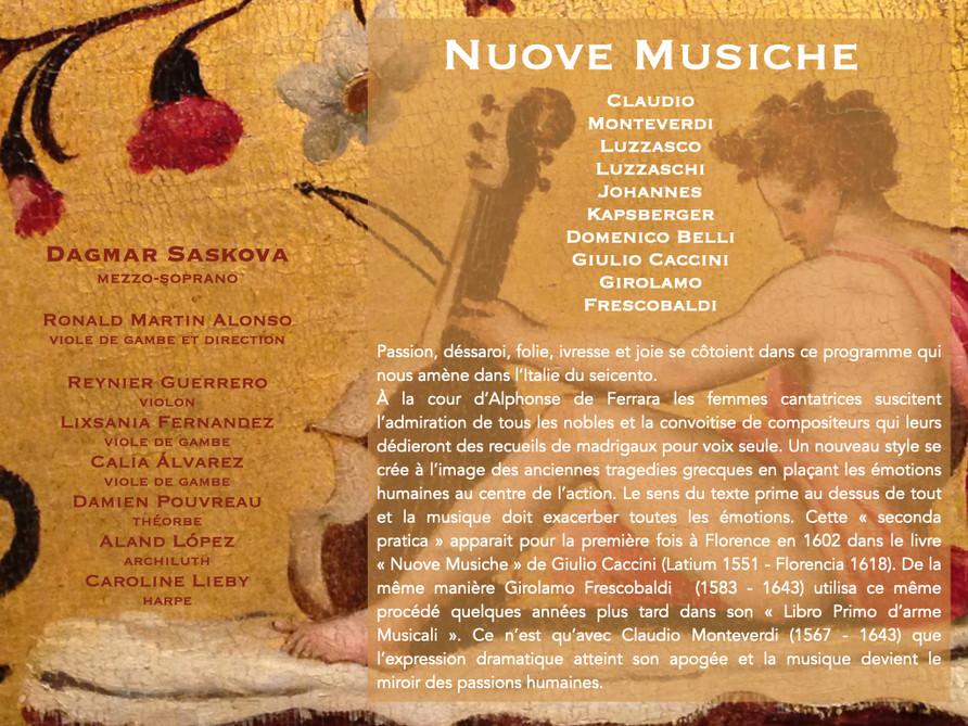 Verbi musicali _ La chanson ornée en Ita