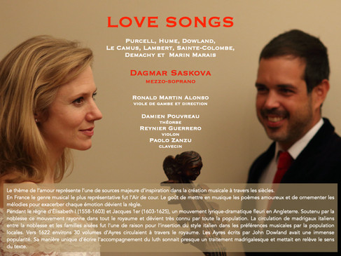 Love songs _ French and english baroque