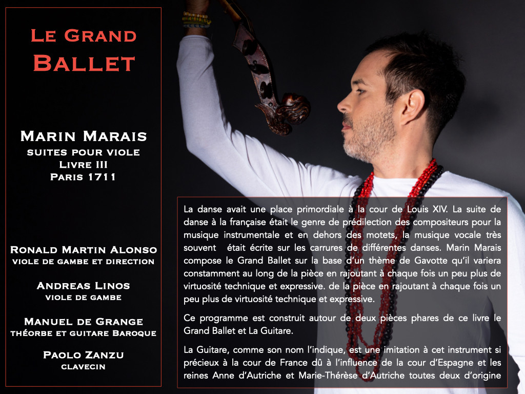 Le Grand Ballet _ Marin Marais
