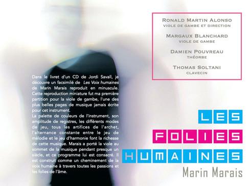 Les Folies Humaines _ Marin Marais