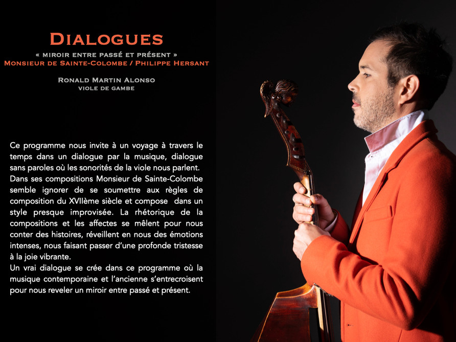 Dialogues / Sainte-Colombe / Hersant