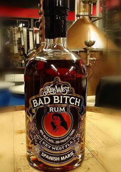 key west legal rum bad bitch rum spanish