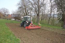 Nun geht es an die Landwirtschaft