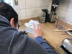 Erste Rezepturen werden verfeinert