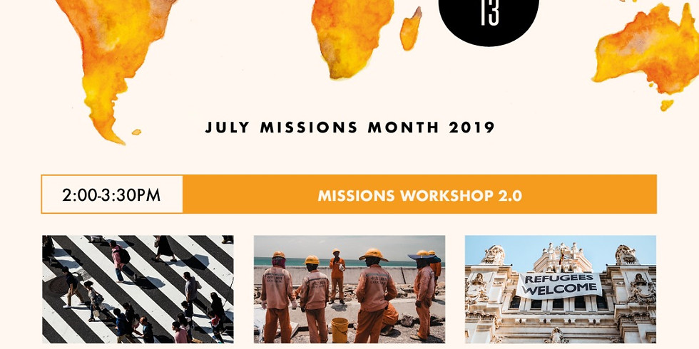 JMM 2019 Missions Workshop