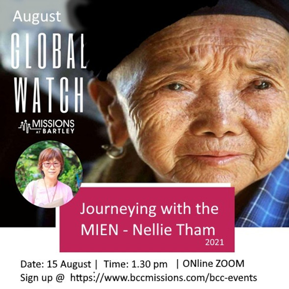 Global Watch  August: Journeying with the MIEN, by Nellie