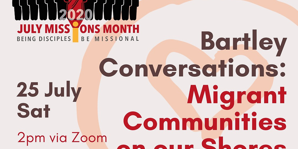 Bartley Conversations: Migrant Communities on our Shores